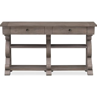 Charthouse Sofa Table Gray
