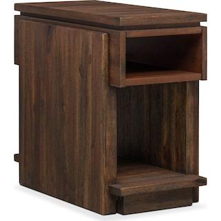 Pueblo Chairside Table - Pecan