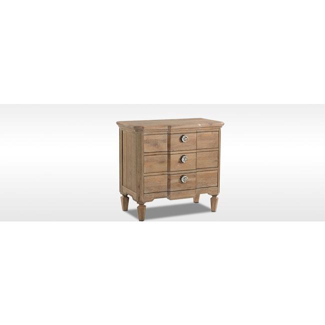 Bedroom Furniture - Regents Park Nightstand - Oak