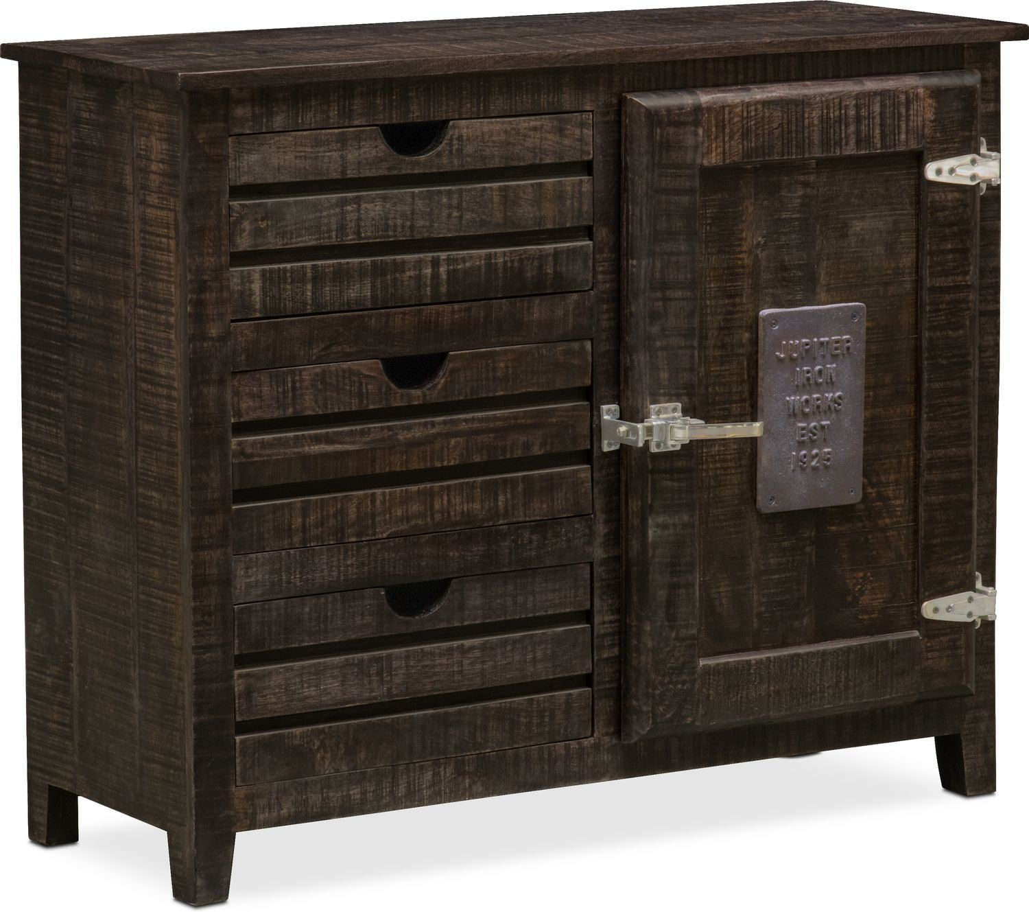 Accent and Occasional Furniture - Jupiter Cabinet - Black