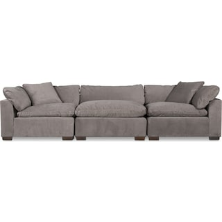 Plush 3-Piece Sofa