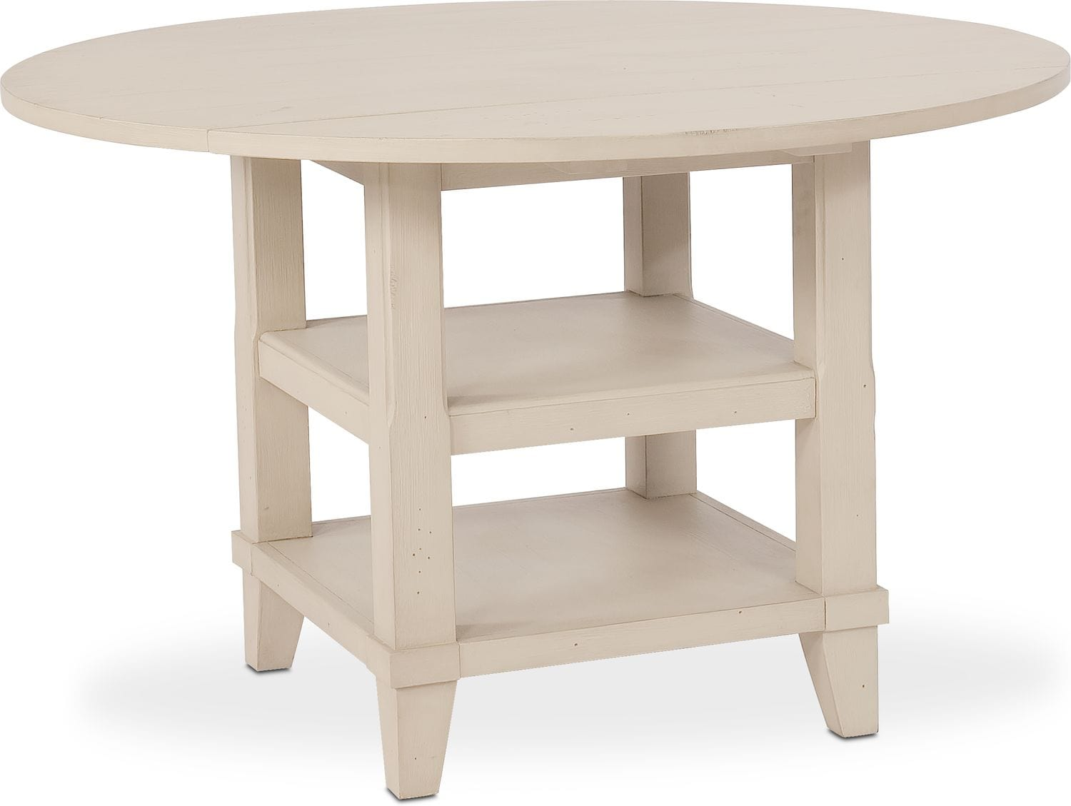 New Haven Dining Table And 6 Shiplap Side Chairs Value City