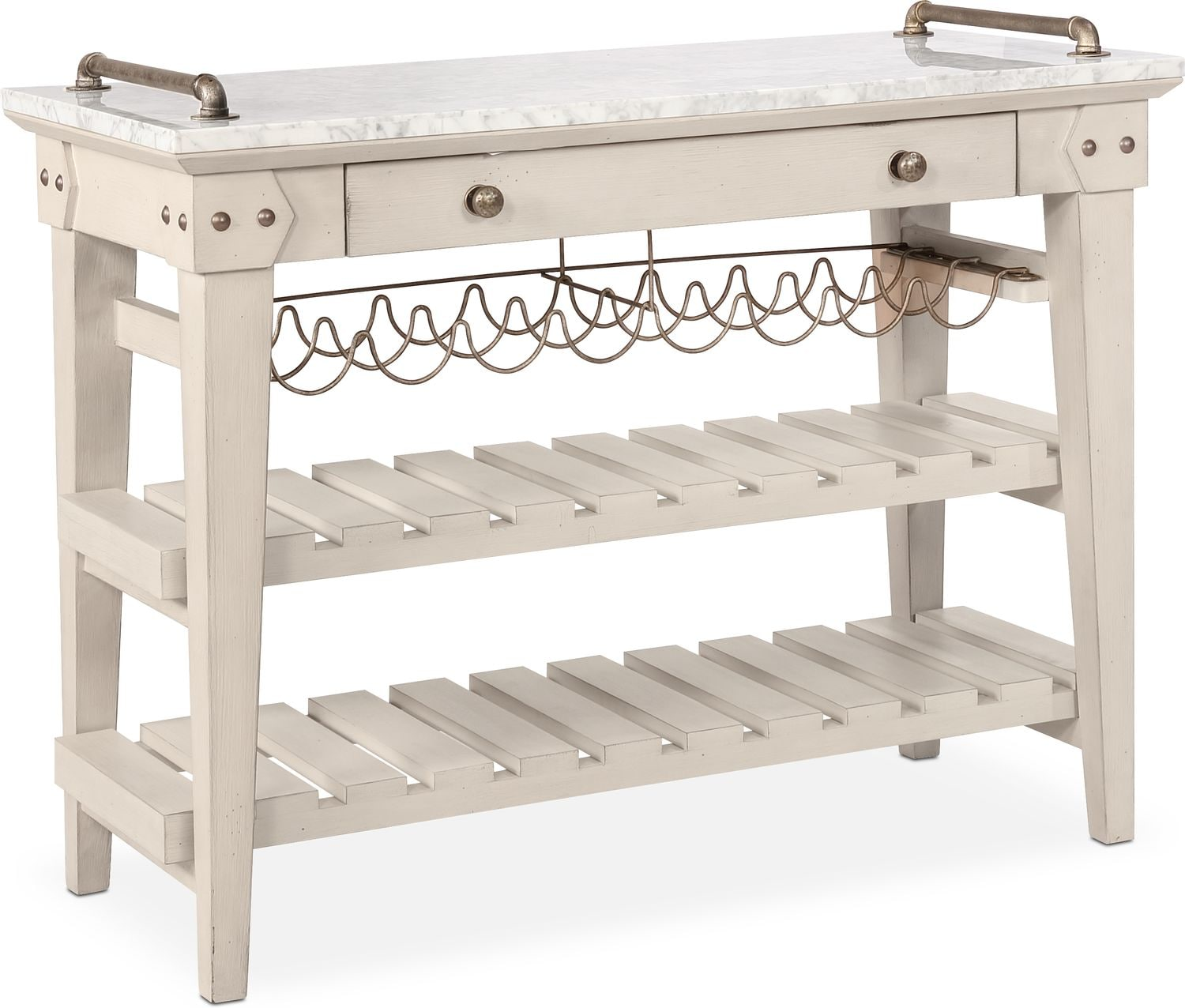 Dining Room Furniture - New Haven Serving Cart