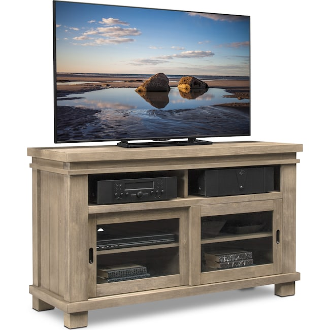 """Entertainment Furniture - Tribeca 54"""" TV Stand - Gray"""