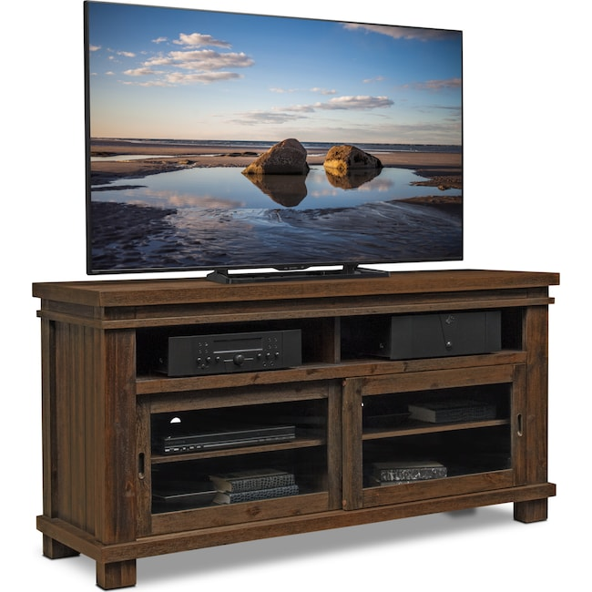 "Entertainment Furniture - Tribeca 64"" TV Stand - Tobacco"