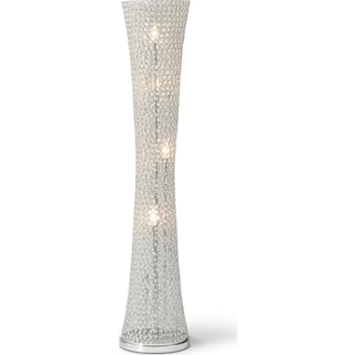 Crystal Curve Floor Lamp