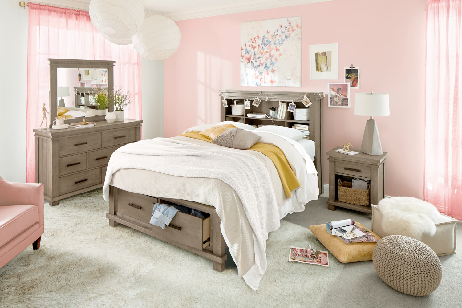 Swell The Tribeca Youth Bedroom Collection Value City Furniture Interior Design Ideas Helimdqseriescom