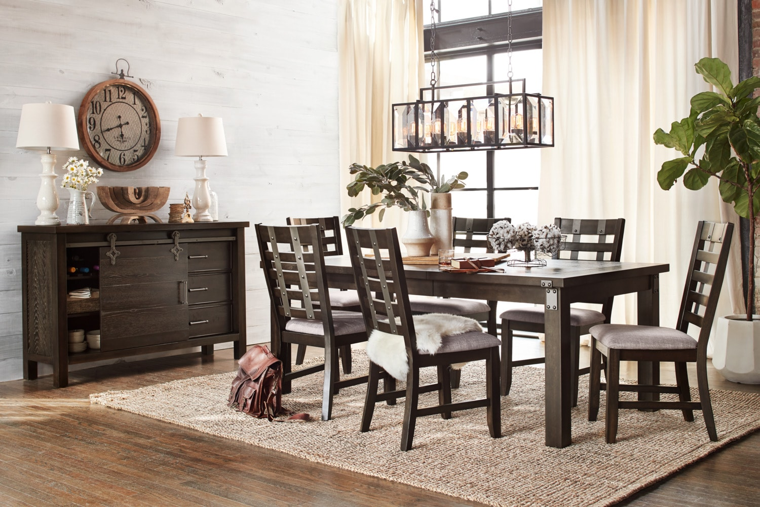 Exceptional ... Hampton Dining Table And 6 Side Chairs   Cocoa