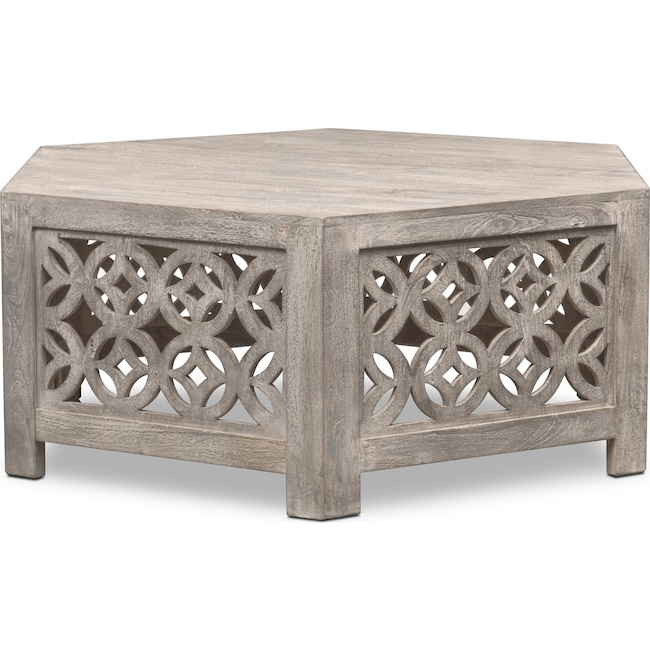Accent and Occasional Furniture - Parlor Coffee Table - Gray