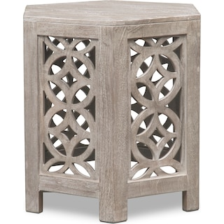 Parlor End Table - Gray