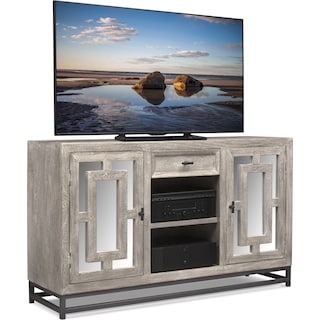 "Parlor 60"" TV Stand - Gray"