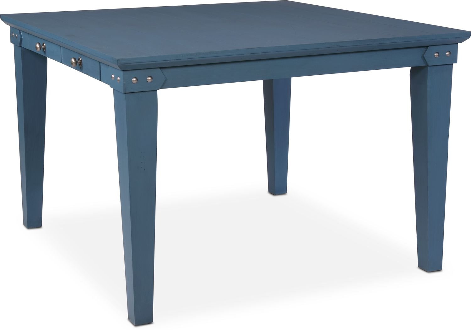 Image Of Item New Haven Counter Height Dining Table Blue
