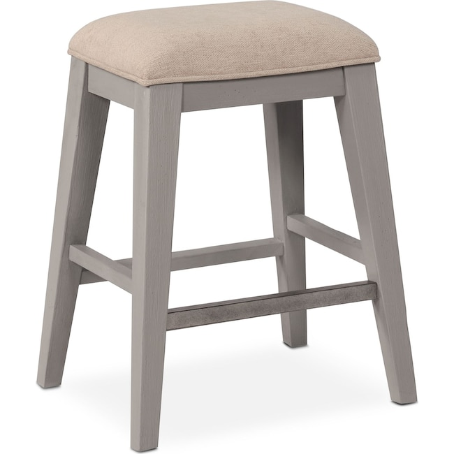 Dining Room Furniture - New Haven Counter-Height Backless Stool