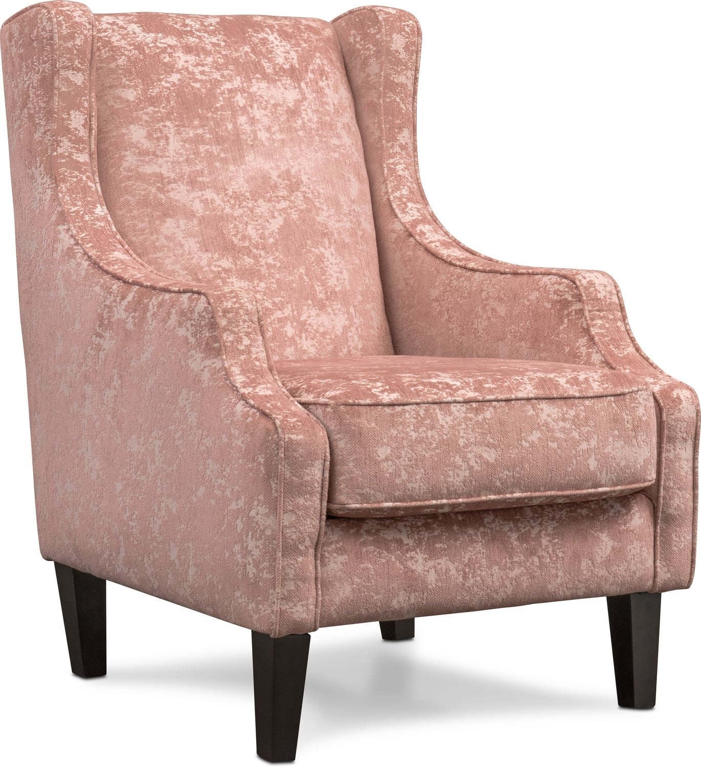 Campbell Accent Chair - Blush