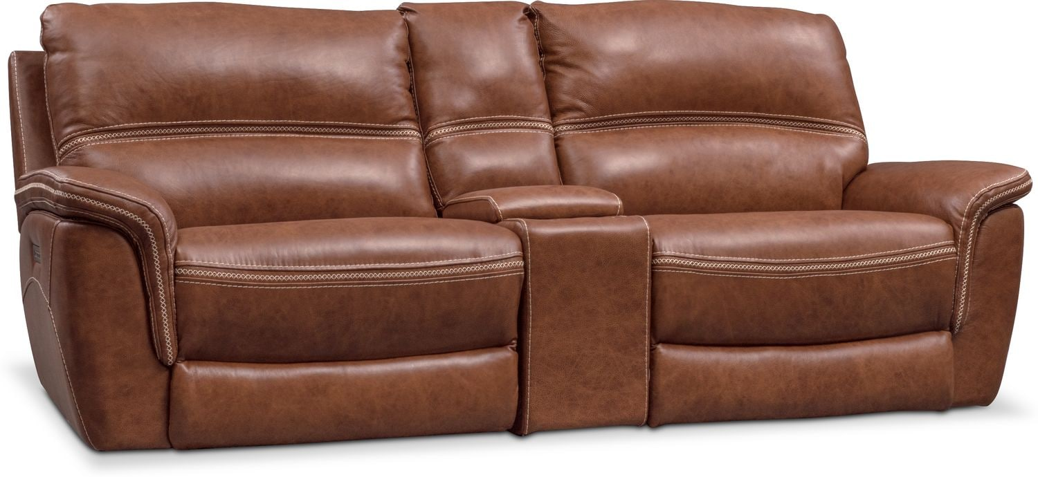 Living Room Furniture - Avanti 3-Piece Power Reclining Sofa