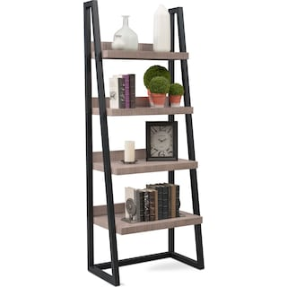 Tiburon Ladder Shelf - Gray