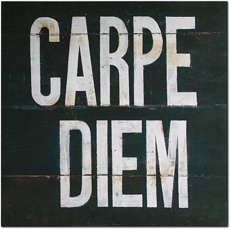 Accent and Occasional Furniture - Carpe Diem Canvas Print