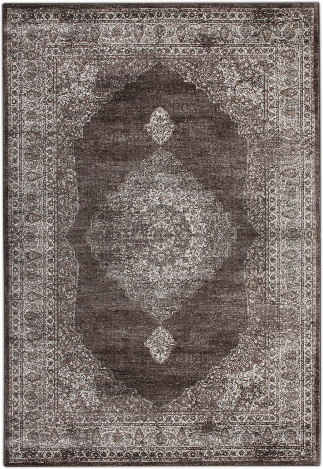 Rugs - Sonoma Area Rug - Ivory and Beige