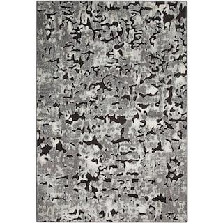 Napa Area Rug - Gray and Black