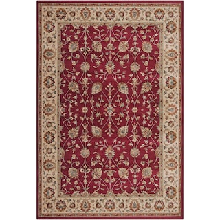 Sonoma Noble 5' x 8' Area Rug - Red and Beige