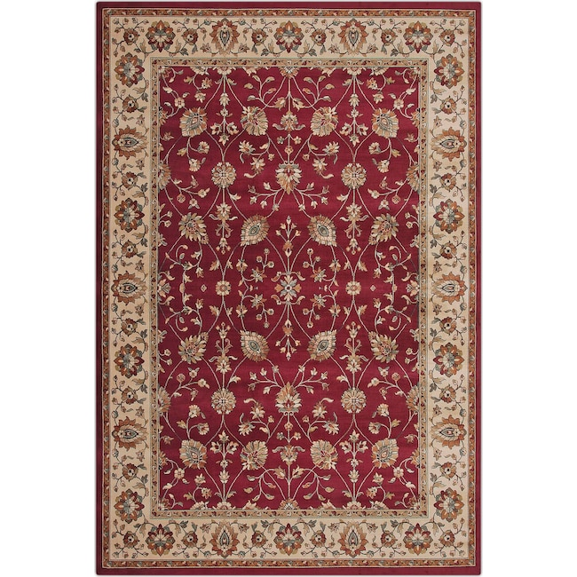 Sonoma Le 5 X 8 Area Rug Red And