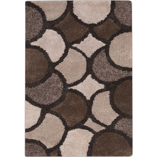 Lifestyle Disco 8' x 10' Area Rug - Beige