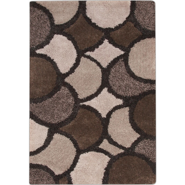 Rugs - Lifestyle Disco 8' x 10' Area Rug - Beige