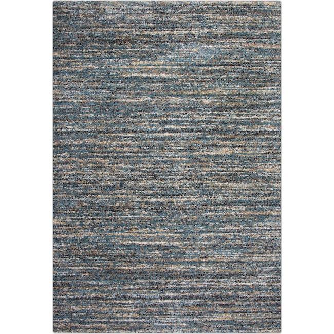 Rugs - Granada 5' x 8' Area Rug - Blue