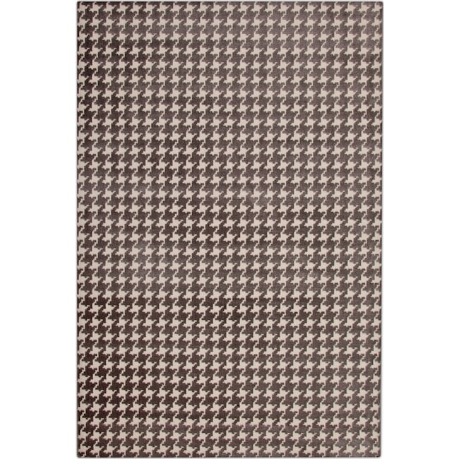 metro 8' x 10' area rug - gray and ivory | value city furniture and 8 X 10 Area Rugs