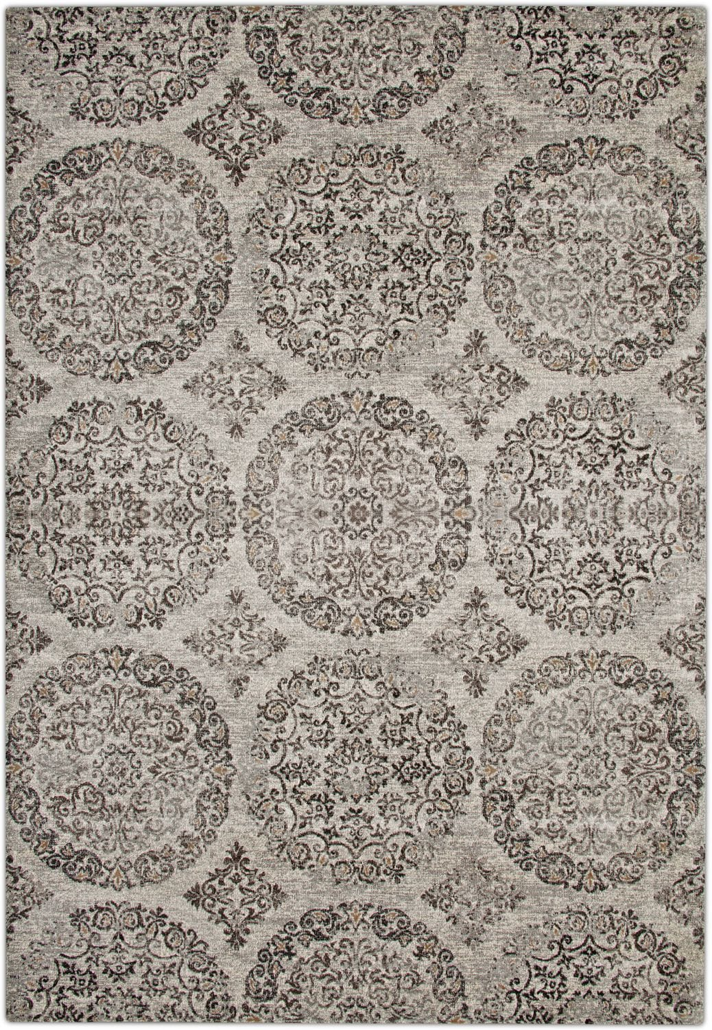 Rugs - Sonoma Area Rug - Beige and Brown