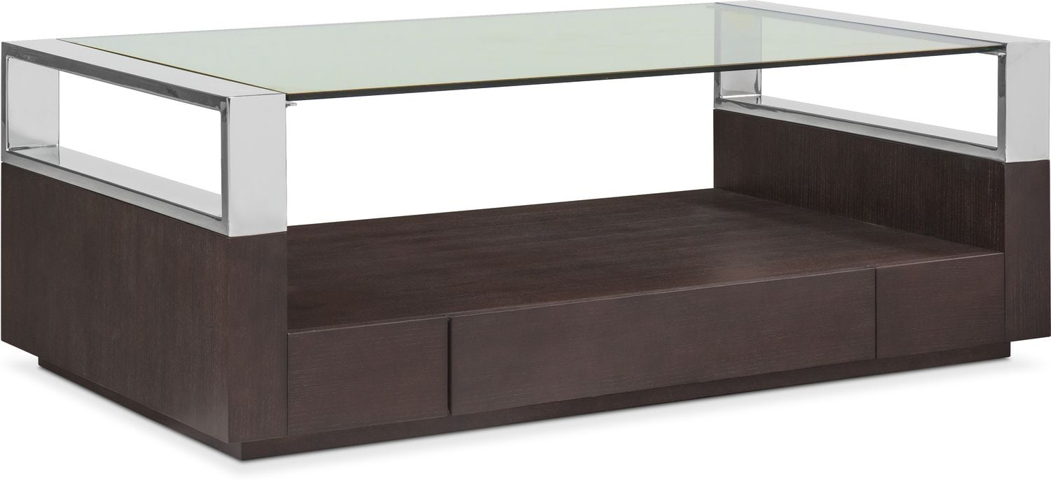 Accent and Occasional Furniture - Vogue Coffee Table - Graphite