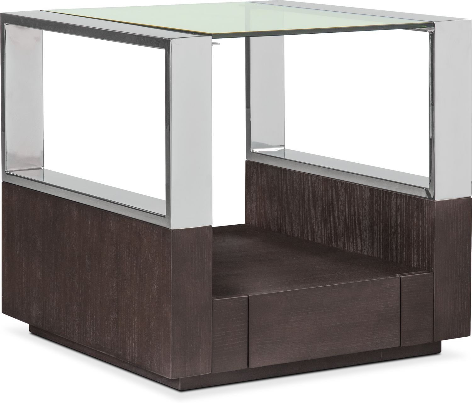 Accent and Occasional Furniture - Vogue End Table - Graphite