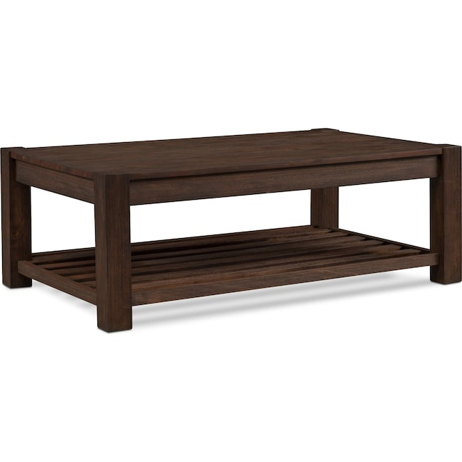 Accent and Occasional Furniture - Tribeca Cocktail Table - Tobacco