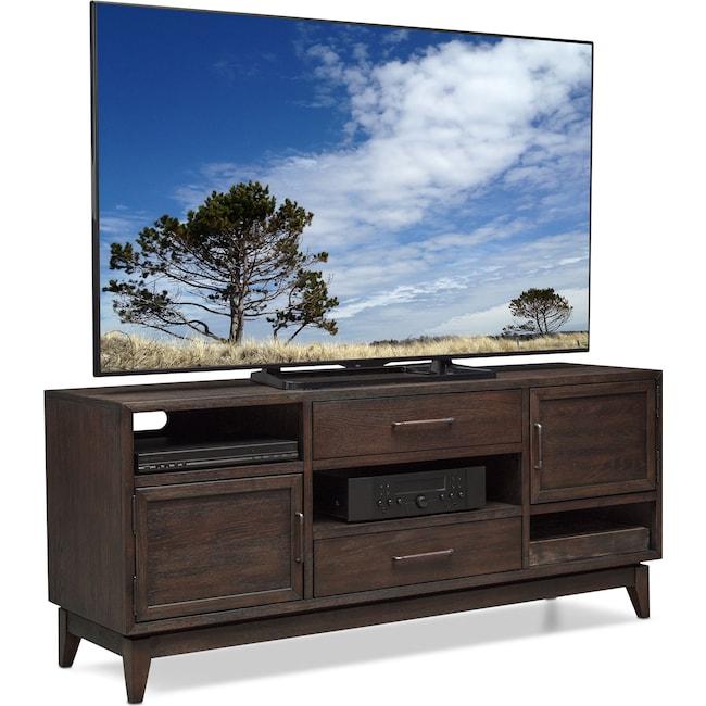 "Entertainment Furniture - Saybrook 66"" TV Stand - Umber"
