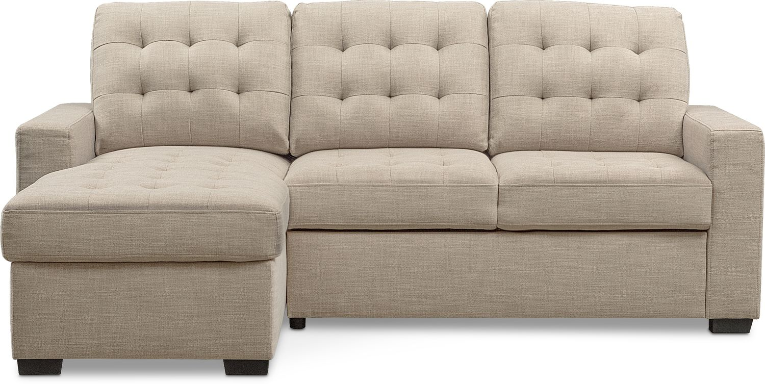 Chatman 2 Piece Sleeper Sectional With Left Facing Chaise