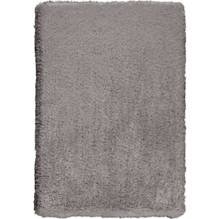 Ultra Shag Area Rug - Gray
