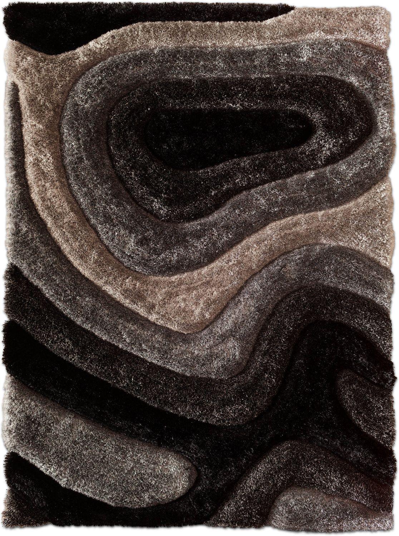 Charmant Magna Pangea 5u0027 X 7u0027 Area Rug   Gray