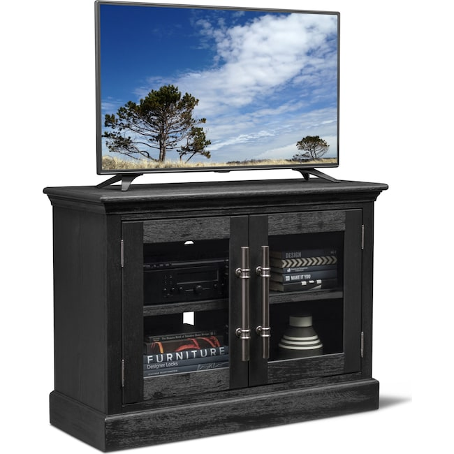 "Entertainment Furniture - Telluride 45"" TV Stand - Truffle"