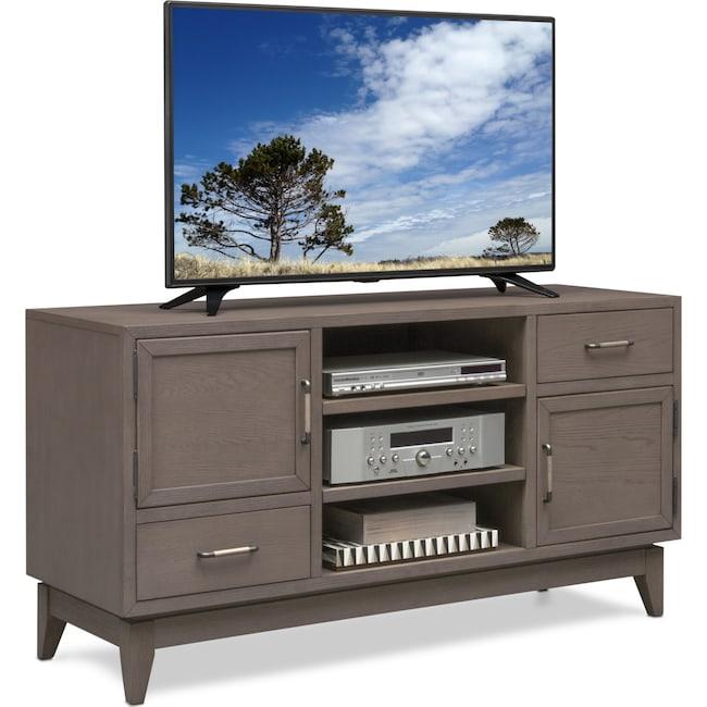 "Entertainment Furniture - Saybrook 54"" TV Stand - Gray"