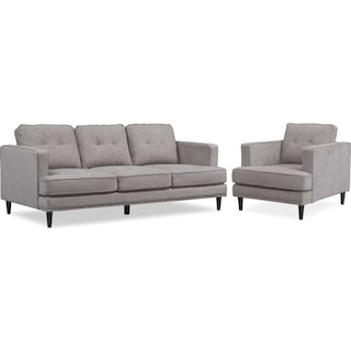 Parker Sofa and Chair Set
