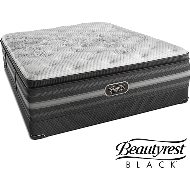 Mattresses and Bedding - Katarina Luxury Firm Queen Mattress and Low-Profile Foundation Set