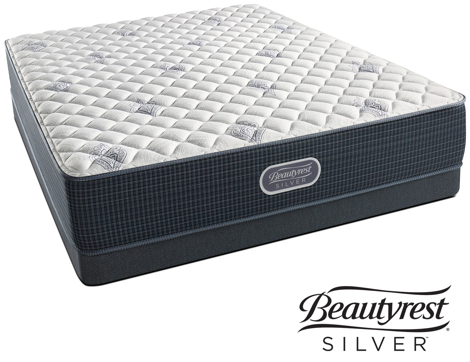 White River Extra Firm King Mattress And Split Low-Profile