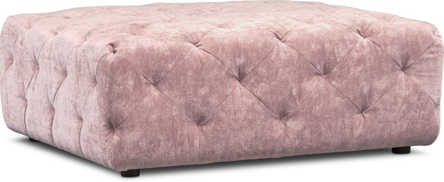 Living Room Furniture - Mackenzie Ottoman