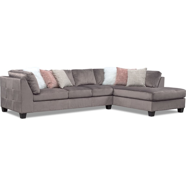 Mackenzie 2 Piece Sectional With Chaise