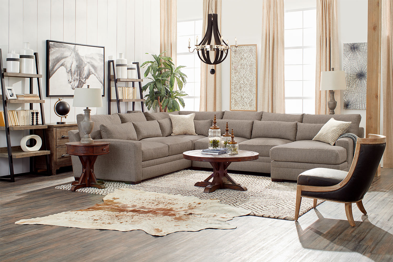 Winston 4 Piece Sectional With Chaise Value City Furniture And