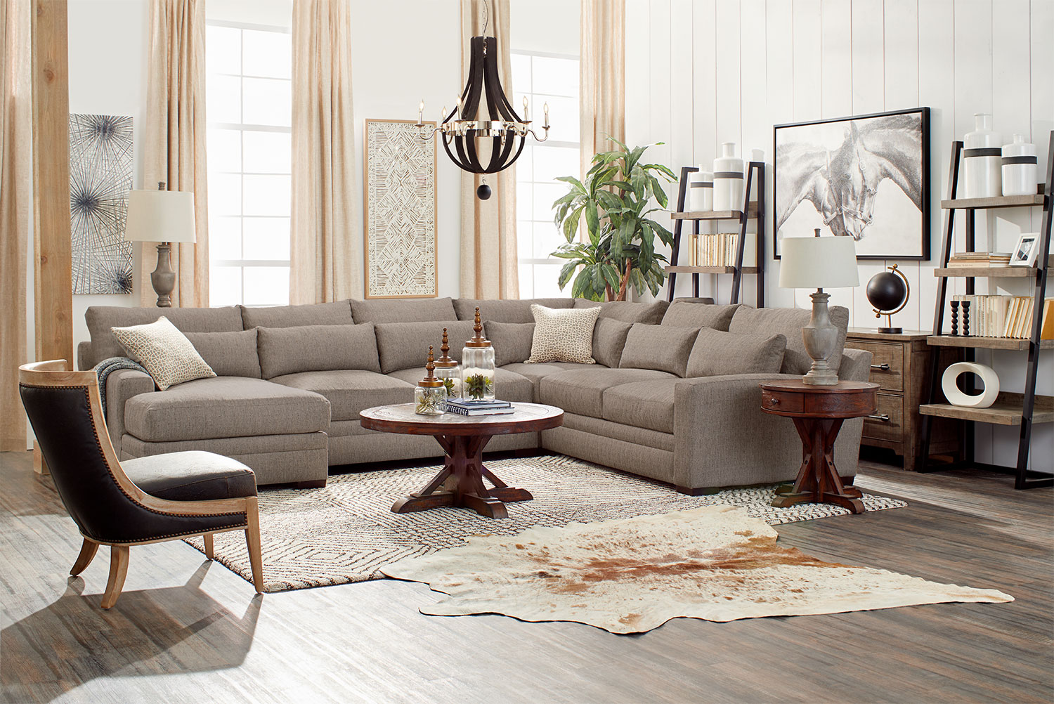 ... Winston 4 Piece Sectional With Chaise