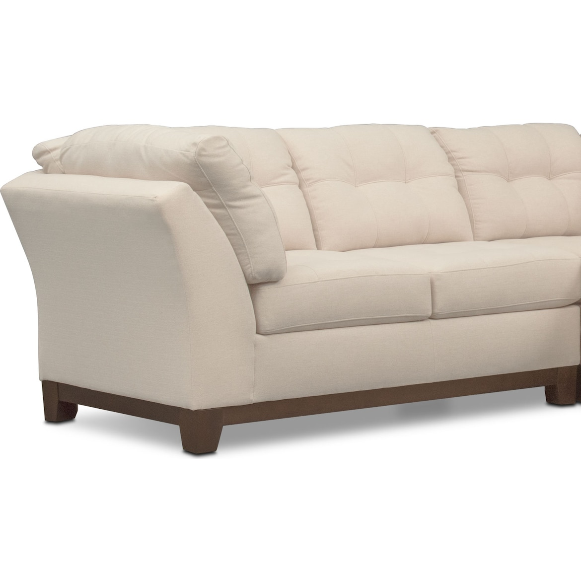 Sebring 3 Piece Small Sectional Value City Furniture And