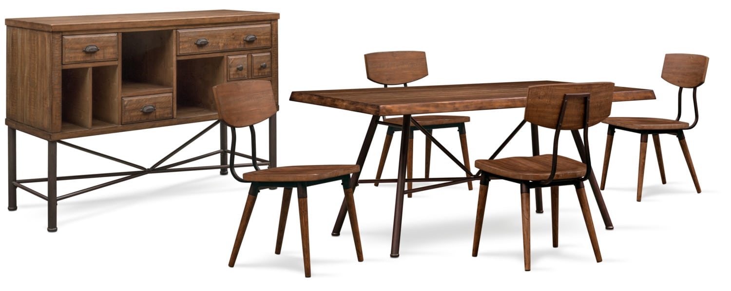 The Bodhi Collection - Rustic Pine