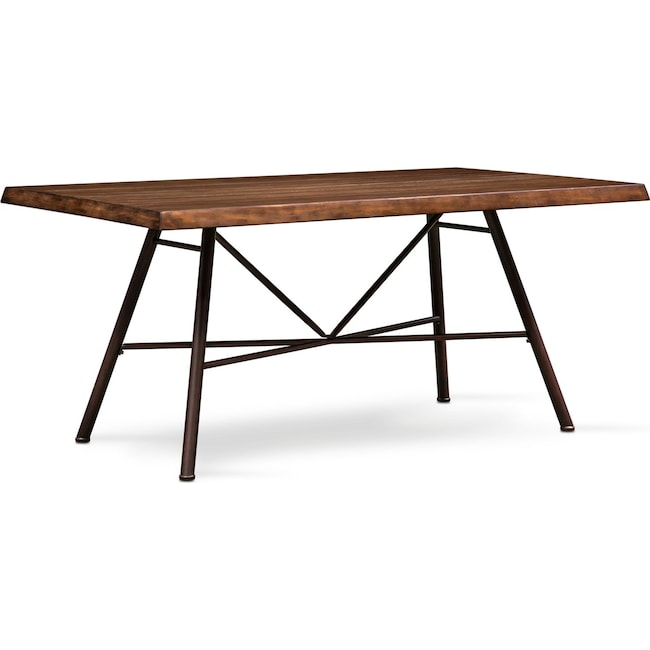 Dining Room Furniture - Bodhi Dining Table - Rustic Pine