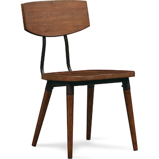 Bodhi Side Chair - Rustic Pine